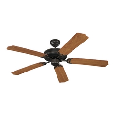 Ceiling Fan Without Light in Heirloom Bronze Finish