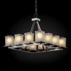 Justice Design Group Veneto Luce Collection Chandelier