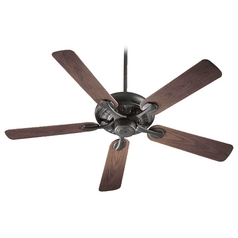 Quorum Lighting Pinnacle Patio Old World Ceiling Fan Without Light