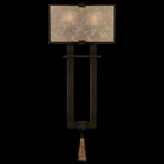 Fine Art Lamps Singapore Moderne Brown Patinated Bronze Sconce