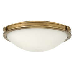 Hinkley Lighting Maxwell Heritage Brass Flushmount Light