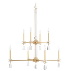 Capital Lighting Milan Capital Gold Chandelier