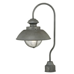 Harwich Textured Gray Post Light by Vaxcel Lighting