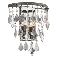 Troy Lighting Meritage Graphite Sconce