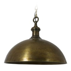 Light & Living Antique Brass Pendant Light