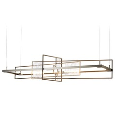 Hubbardton Forge Summer Dark Smoke LED Pendant Light