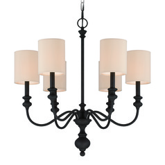 Craftmade Willow Park Gothic Bronze Chandelier
