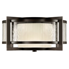 Fine Art Lamps Singapore Moderne Outdoor Dark Bronze Patina Close To Ceiling Light