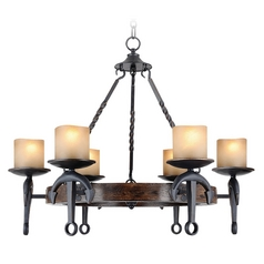 Livex Lighting Cape May Olde Bronze Chandelier