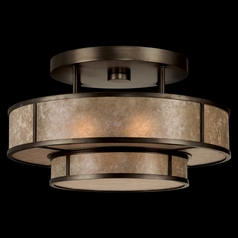 Fine Art Lamps Singapore Moderne Brown Patinated Bronze Semi-Flushmount Light