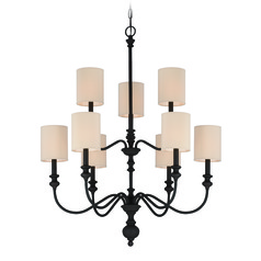 Jeremiah Willow Park Gothic Bronze Chandelier