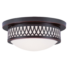 Livex Lighting Westfield Olde Bronze Flushmount Light