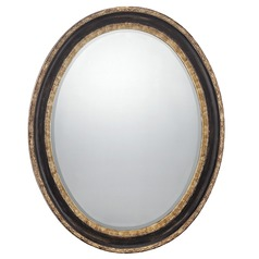 Oval 28-Inch Mirror