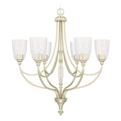 Capital Lighting Seaton Soft Gold Chandelier
