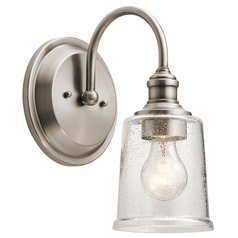 Kichler Lighting Waverly Classic Pewter Sconce
