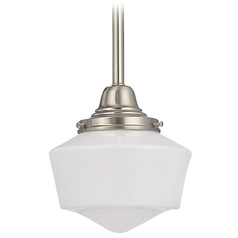 6-Inch Schoolhouse Mini-Pendant Light