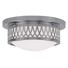 Livex Lighting Westfield Brushed Nickel Flushmount Light