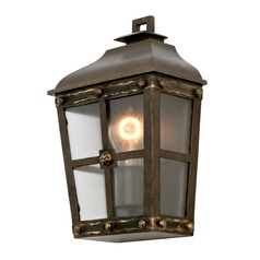Kalco Shorecrest Aged Bronze Outdoor Wall Light