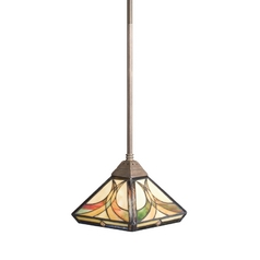 Kichler Lighting Kichler Mini-Pendant Light with White Glass 65175