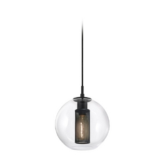 Modern Mini-Pendant Light with Clear Glass | 4281.25 ...