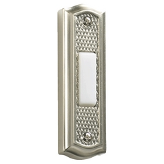 Quorum Lighting Satin Nickel Doorbell Button