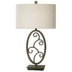 Uttermost Salina Forged Metal Lamp