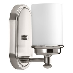 Glide Brushed Nickel Sconce