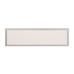 Neo Brushed Aluminum LED Bathroom Light - Vertical or Horizontal Mounting