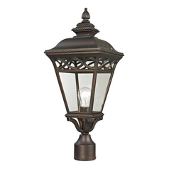 Cornerstone Lighting Mendham Hazelnut Bronze Post Light