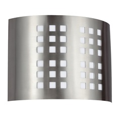 Sea Gull Lighting ADA Wall Sconce Brushed Nickel LED Sconce