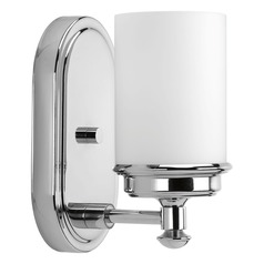 Glide Polished Chrome Sconce