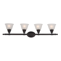 Maxim Lighting Essentials Oil Rubbed Bronze Bathroom Light