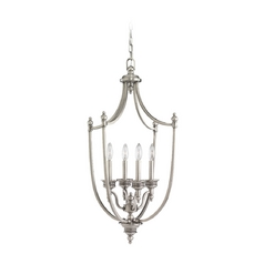 Pendant Light in Antique Brushed Nickel Finish
