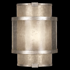 Fine Art Lamps Singapore Moderne Silver Leaf Sconce