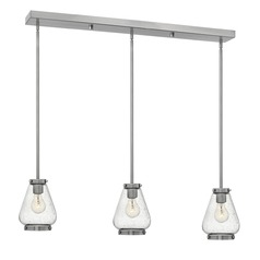 Hinkley Lighting Finley Brushed Nickel Mini-Pendant Light with Urn Shade