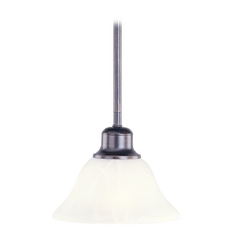 Maxim Lighting Pacific Kentucky Bronze Mini-Pendant Light with Bell Shade