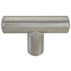 Satin Nickel Cabinet Knob - Case Pack of 10 - 2-inch