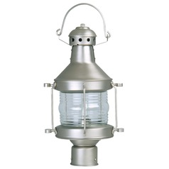 Craftmade Lighting Nautical Brushed Nickel Post Light