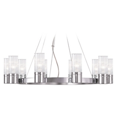 Livex Lighting Midtown Chrome Chandelier