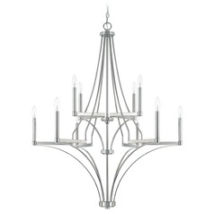 Capital Lighting Wright Polished Nickel Chandelier