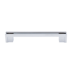Modern Cabinet Pull in Polished Chrome Finish