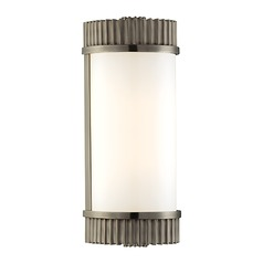 Benton Antique Nickel Bathroom Light - Vertical or Horizontal Mounting