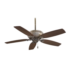 54-Inch Ceiling Fan Without Light in Beige Finish