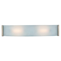 Access Lighting Helium Brushed Steel Bathroom Light