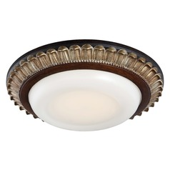 Minka Lavery Belcaro Walnut LED Flushmount Light