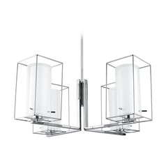 Eglo Loncino 1 Chrome Chandelier