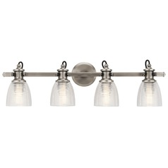 Marine / Nautical Bathroom Light Pewter Flagship by Kichler Lighting