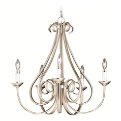 Kichler Dover 5-Light Chandelier in Brushed Nickel