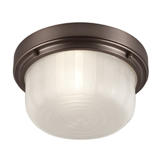 Feiss Lighting Elliot Chocolate Flushmount Light