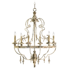 Cyan Design Davinci Persian White Chandelier